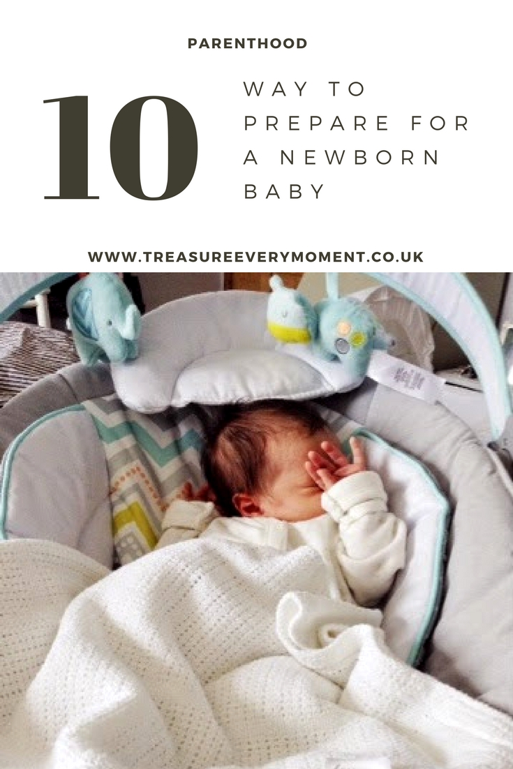10 WAYS: To prepare for a newborn baby