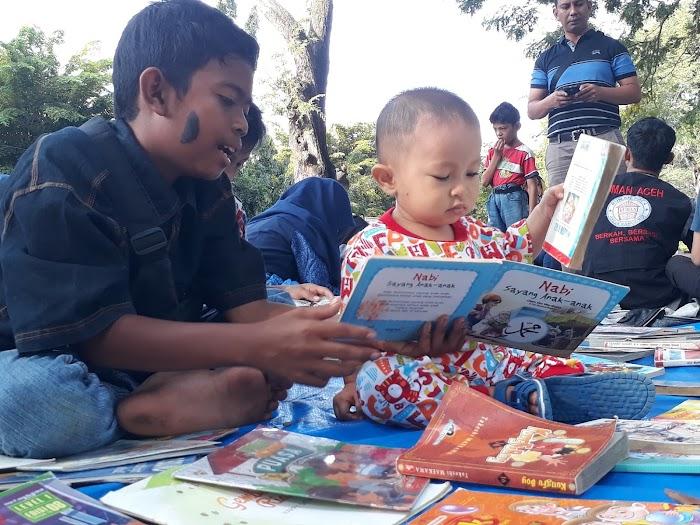 Wisata Buku Gratis MIBARA Pinjamkan 8.509 Bacaan Sepanjang 2019