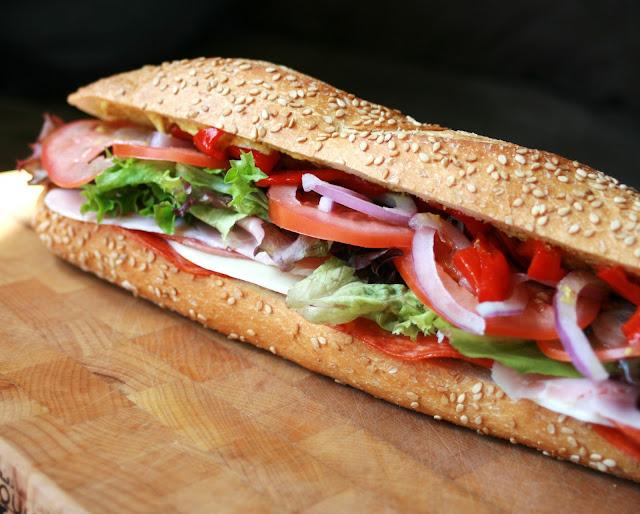 Parmesan Chicken Flatbread Sandwich