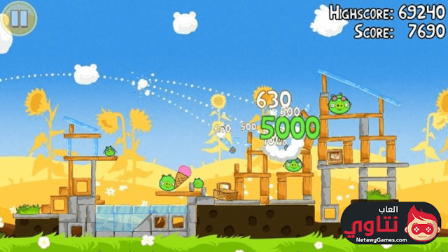 لعبة الطيور الغاضبة 2017 للكمبيوتر
