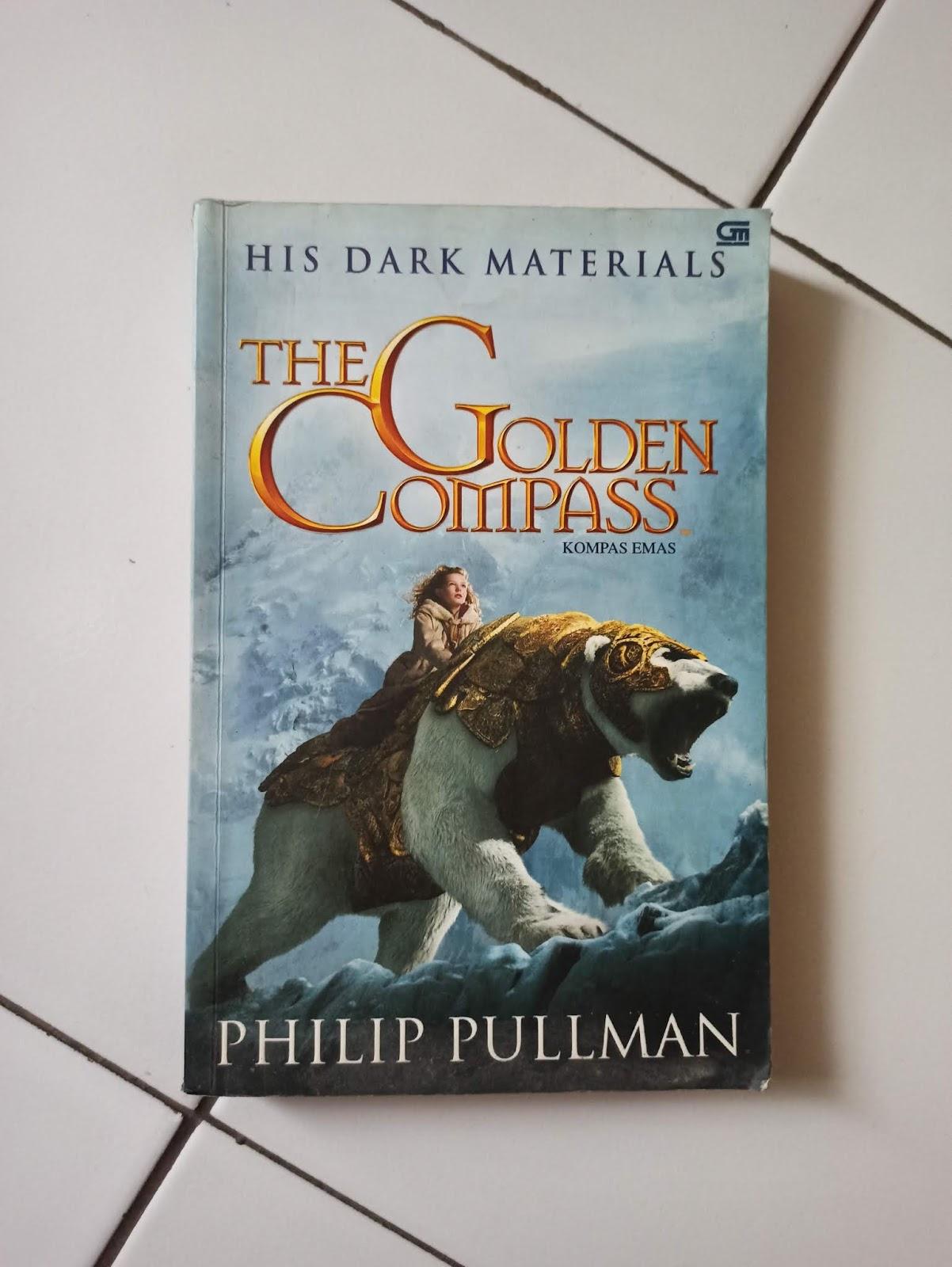 Novel Bekas The Golden Compass (Kompas Emas) Philip Pullman