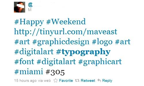 tweet trop de hashtag