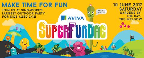 【亲子活动】Aviva Superfundae Singapore 2017 新加坡家庭活动日  2017年中学校假期亲子好去处