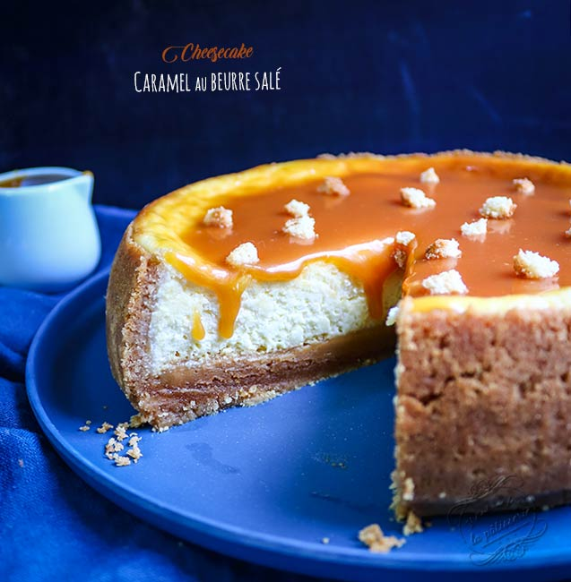 cheesecake au caramel inratable