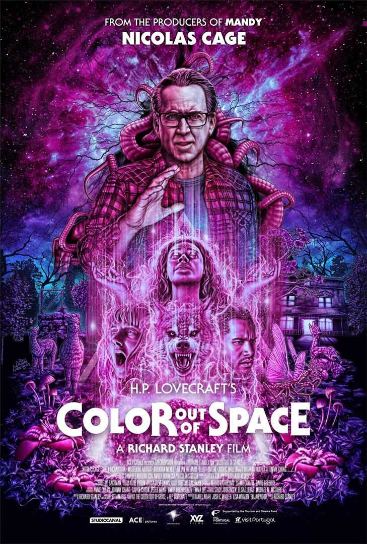 El Color que Cayó del Cielo (Color Out of Space, 2019)