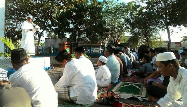 Ratusan Warga Muhammadiyah Salat Idul Adha di Kampus STKIP MB
