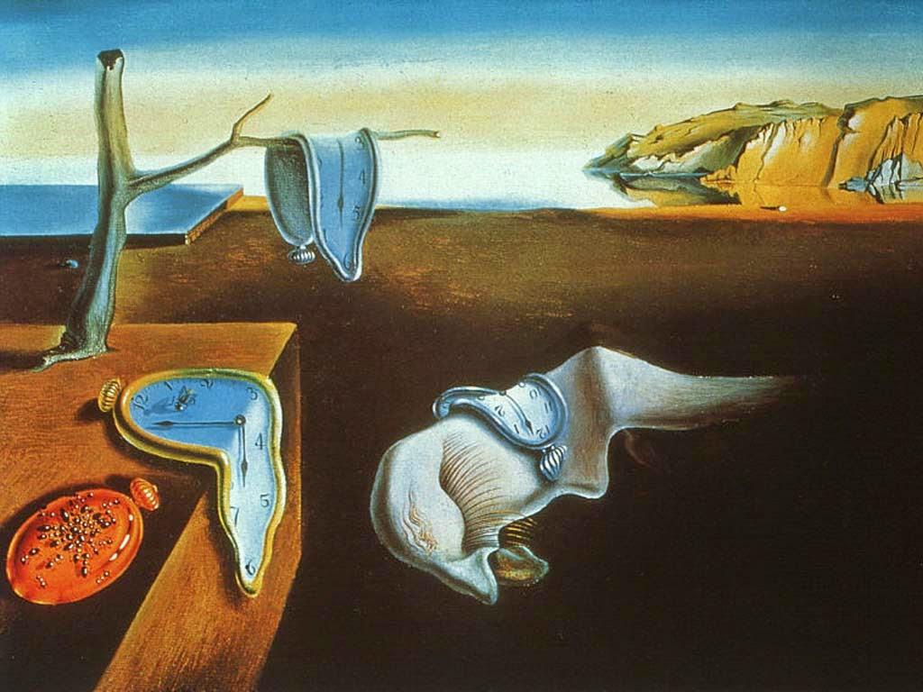 comentario de arte. la persistencia de la memoria