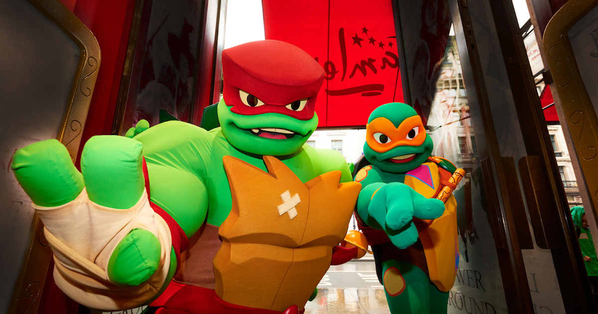 Nickalive The Ninja Turtles Takeover Hamleys Flagship Store In London To Celebrate Uk Launch Of Rise Of The Tmnt Toy Line