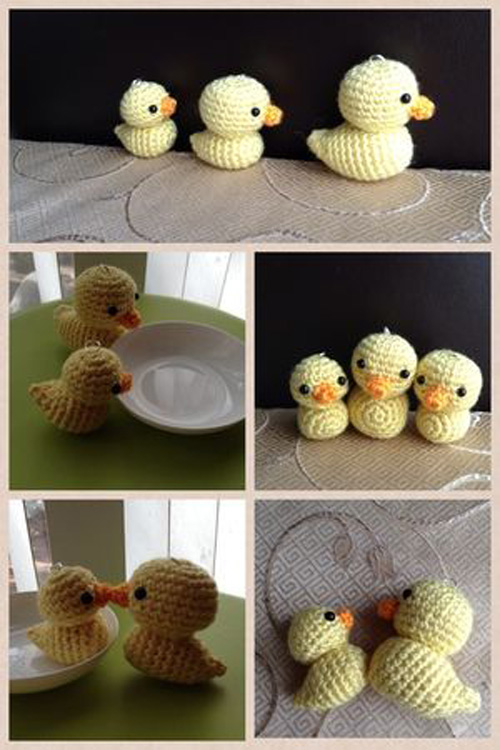 Little Ducks - Free Amigurumi Pattern