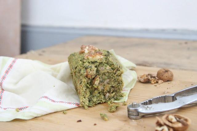 Mini cakes roquette et noix (vegan)