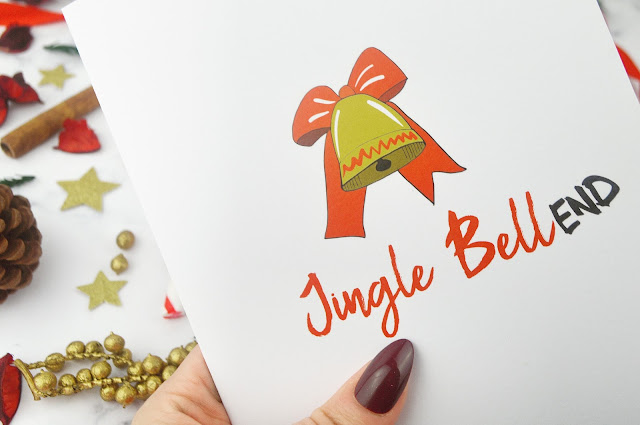 Love Layla Designs Christmas Cards, Wrapping Paper and Badges Review - Lovelaughslipstick Blog