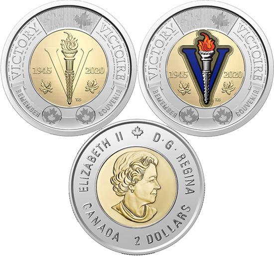 Canada 2 dollars 2020 - Haida artist Bill Reid