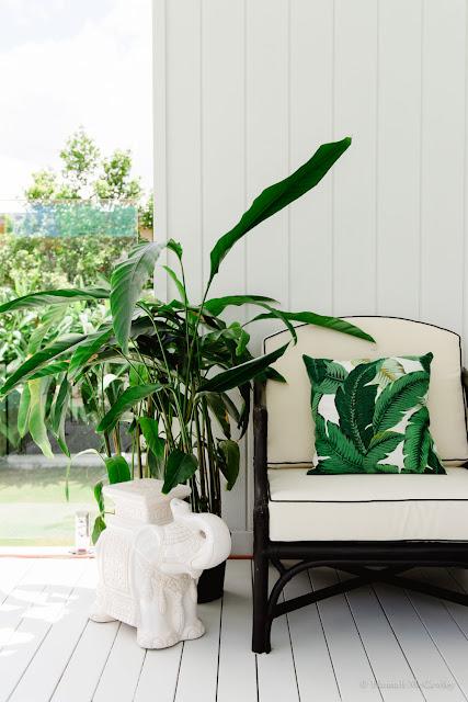 interior designers Brisbane, interior decorators Brisbane, property stylists Brisbane, outdoor area, pool, summer, plants