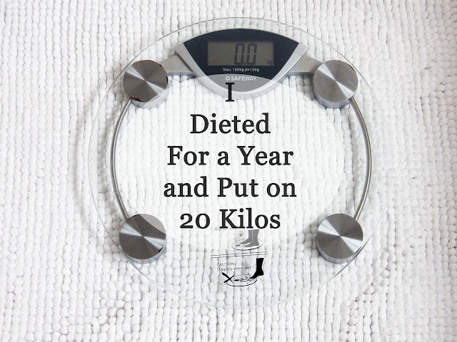I dieted for a year and put on 20 kilos scale