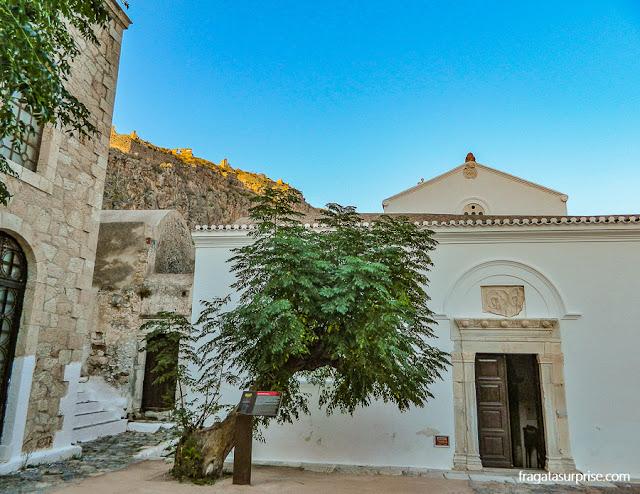 Igreja ortodoxa de Panagia Chrysafitissa, Monemvasia, Grécia