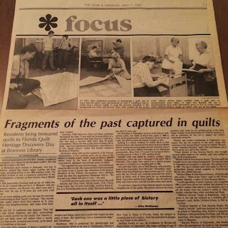 photo of a 1980s newspaper article