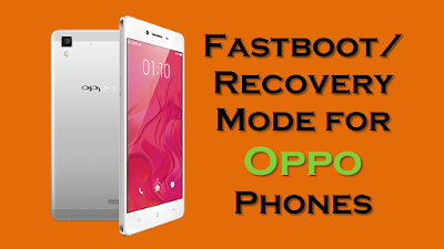 Fastboot Recovery Mode for Oppo Phones
