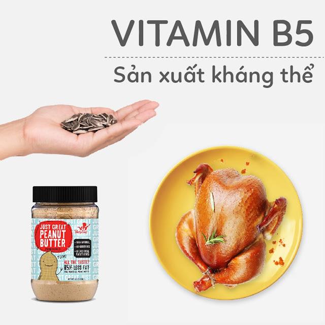 Hướng dẫn Mẹ Bầu bổ sung Vitamin B5 - Sản xuất kháng thể