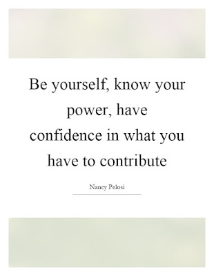 Power of confidence quotes