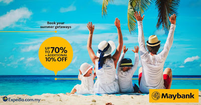 Maybank Cards Expedia Hotel Bookings Discount Promo