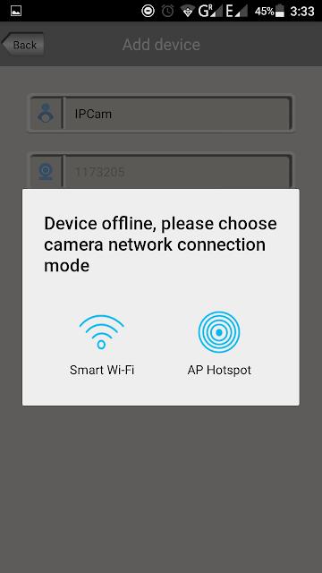 sricam wireless connectivity