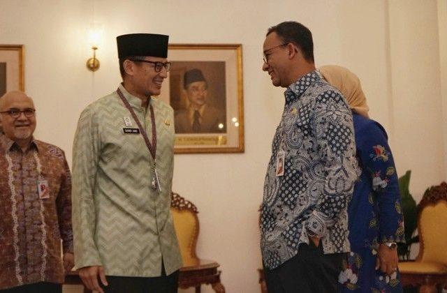 Ditinggal Sandi 1 Tahun 2 Bulan, Harapan Anies 2 Tahun Pimpin Jakarta