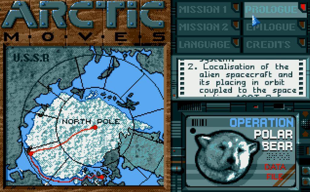 Indie Retro News: Arctic Moves - Gun blasting platformer from the