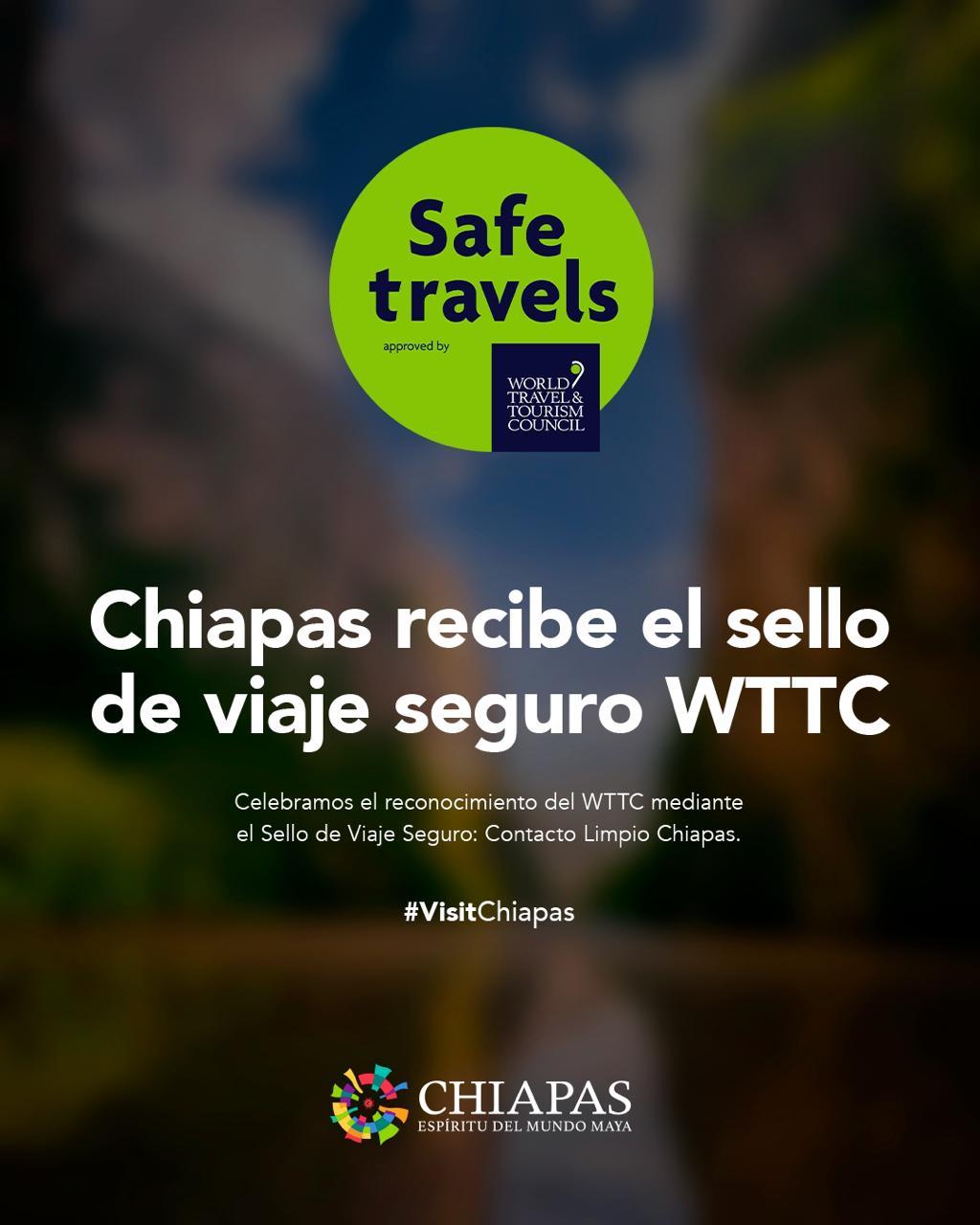 CHIAPAS SELLO VIAJE SEGURO WTTC 01