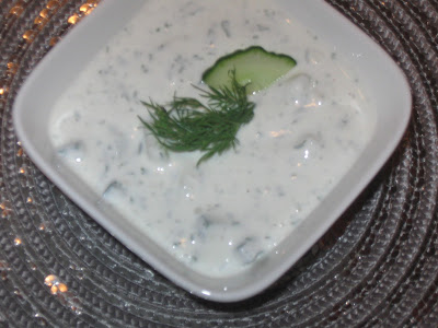 Healthy Cucumber Yogurt Sauce