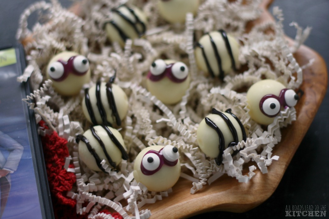 Easy Beetlejuice Truffles | #FoodnFlix