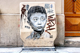 Sunday Street Art : Guaté Mao - cité Riverin - Paris 10