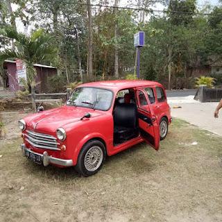 Dijual Mobil Antik FIAT WAGON 1100
