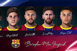 Barcelona Mini Facepack 2021 - PES 2021
