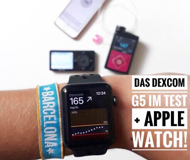 Das Dexcom G5 Im Test Apple Watch Dia Beat This De