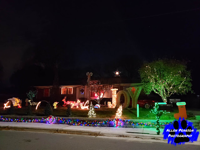 Christmas Lights in Concord, NC