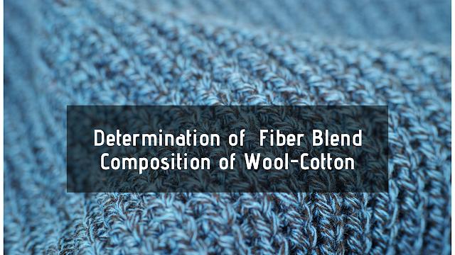 Fiber Blend Composition of Wool-Cotton