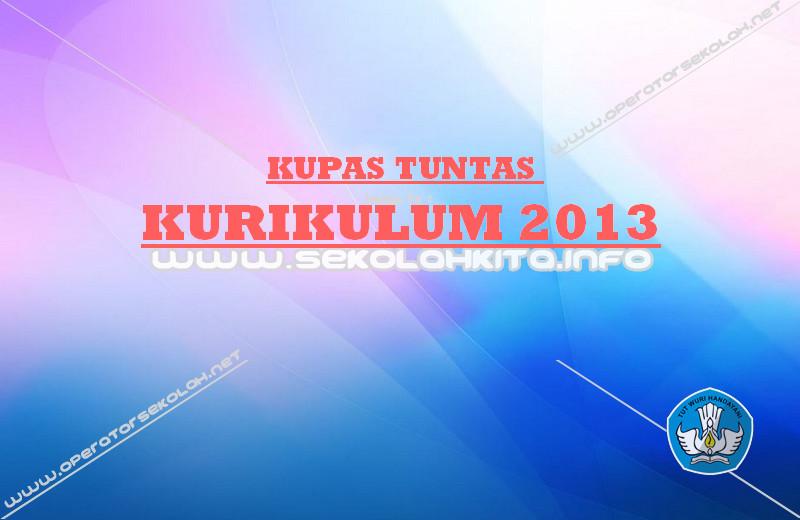 Istilah - istilah di Kurikulum 2013 Halaman 1
