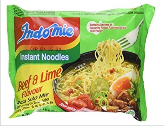 Indomie Instant Noodles Soup Rasa Soto Mie Beef Flavor Halal