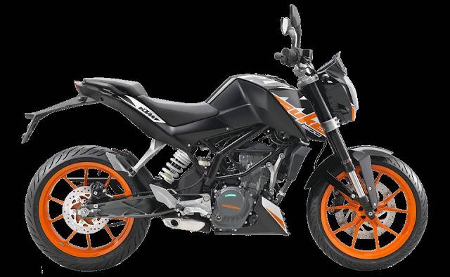 Spesifikasi KTM 200 Duke