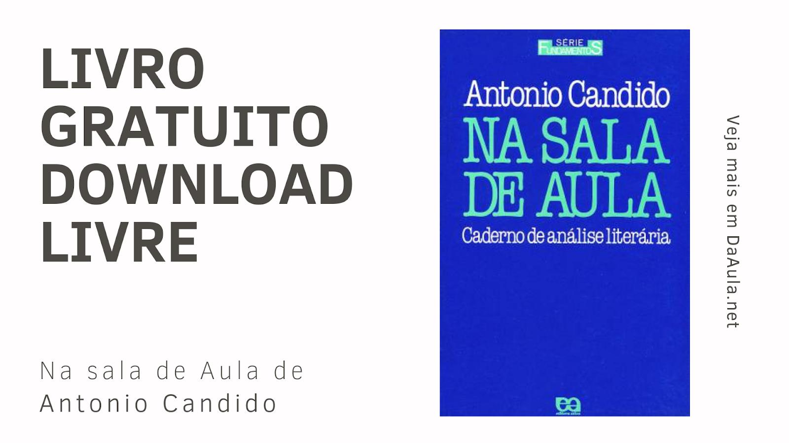 Livro: Na Sala de Aula de Antonio Candido