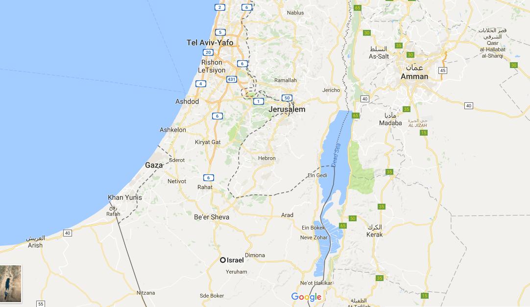 Dimana palestina?