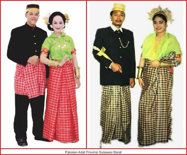 baju adat sulawesi barat