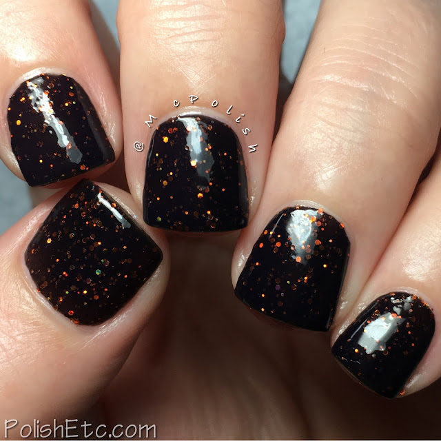 Nine Zero Lacquer - Halloween 2016 Collection - McPolish - Cauldron Fire