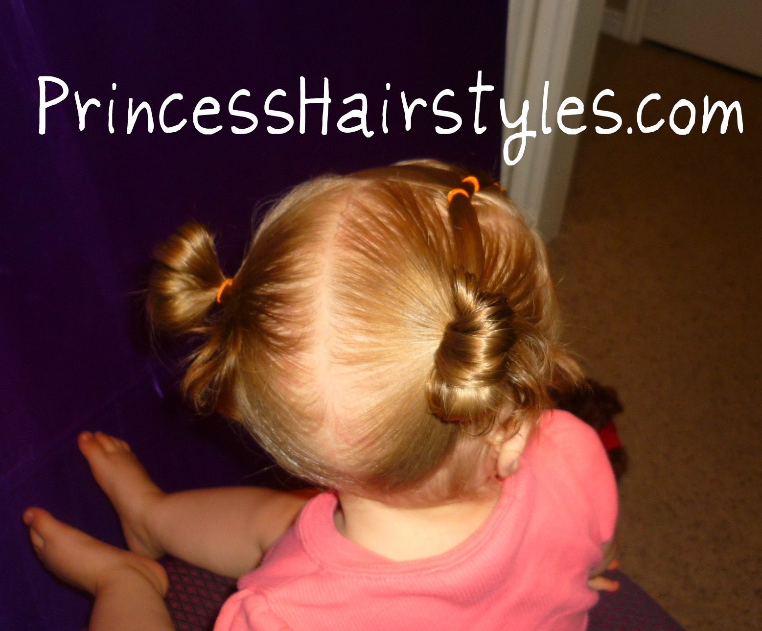 Toddler Hairstyles Elastic Braid Pigtails Hairstyles