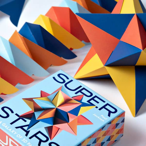 folded paper star kit