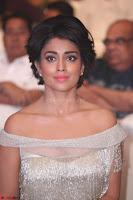 Shriya Saran in Stunning White Off Shoulder Gown at Nakshatram music launch ~  Exclusive (44).JPG