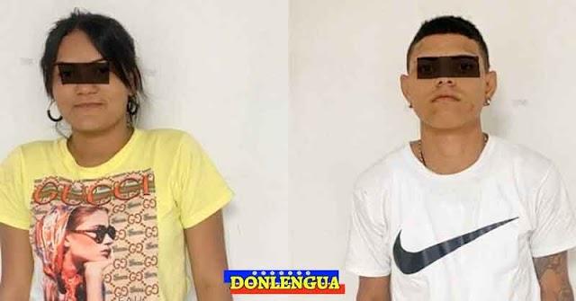 Pareja de venezolanos detenidos por atracar a taxistas en Colombia