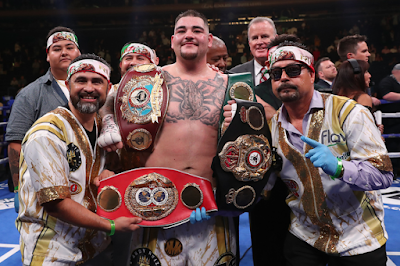 Curious Andy Ruiz Jr Shows Body Transformation, Warns Anthony Joshua (PHOTO)
