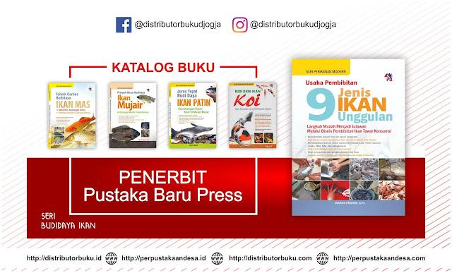 Buku Terbaru Terbitan Penerbit Pustaka Baru Seri Budidaya Ikan