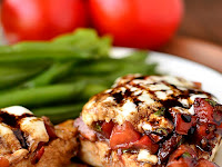 MOZARELLA BRUSCHETTA CHICKEN